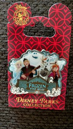 My Frozen ever after LE opening day pin