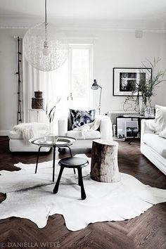 White with dark contrasts