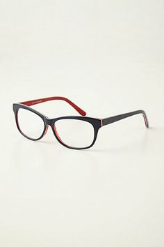Two-Tone Reading Glasses (in pink/green) #anthropologie