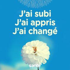 #citations #vie #amour #couple #amitié #bonheur #paix #esprit #santé #jeprendssoindemoi sur: www.santeplusmag.com Plus Belle Citation, Positive Attitude, Positive Life, French Quotes, Mieux Vivre, Amazing Quotes, Love Quotes, Note To Self, Phrases
