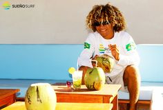Fresh #coconuts are always in our #beachbar