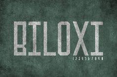 Biloxi by Dismantle Destroy on @creativemarket