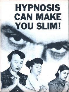 Hypnosis can make you slim