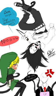 JeffxBen-Ben stops harassing me or I will violate! by LiizEsparza-Chan ...