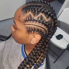feed in braids cornrows protective styles dance hairstyles hairstyles with 4 packs of hair hairstyles using human hair hairstyles for hair hairstyles with shaved sides braided hairstyles hairstyles for 13 year olds hairstyles on short hair Braided Cornrow Hairstyles, Feed In Braids Hairstyles, Black Girl Braided Hairstyles, Black Girl Braids, Baddie Hairstyles, Braids For Black Hair, Girls Braids, African Hairstyles, Braids Cornrows