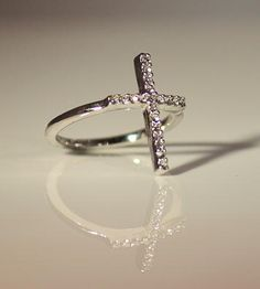 impressaccessories | Silver Cross Ring