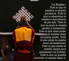 Todo lo que te molesta te enseña paciencia ..... Desiderata, Buddhism, Namaste, Reiki, Einstein, Zen, Medicine, Mindfulness, Feelings