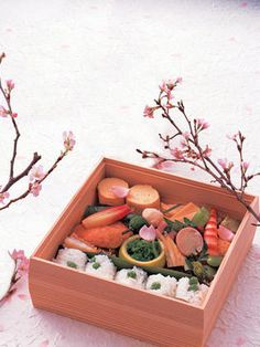 Japanese box lunch for Hanami