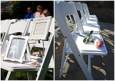 Gone, but not forgotten. Leave a chair for all who could not be with us on our wedding day. Beautiful idea.