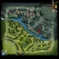 Dota 2 All pull and Stack Points