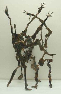 Najim Chechan, Iraq: 'Shock and Awe'  Bronze  63x32x20cm