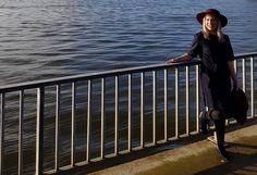 Helsinki Dragonfly dress, elvi, fashion, finnish, Helsinki, lille, mekko, meri, munkkiniemi, muoti, navy, nordic, sea, style, tummansininen, tyyli, vallila