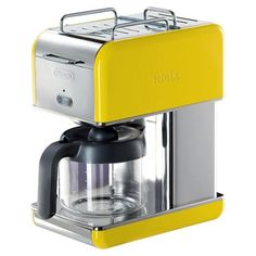rise and shine! // Delonghi kMix 10-Cup Coffee Maker