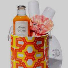 Gift basket - ice bucket