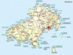 The Island of Skiathos GREECEalso see TURKEY as per cruise