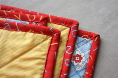 how to bind a baby quilt