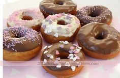 donat 1 x Types Of Cakes, Dunkin Donuts, Flan, Doughnut, Tart, Food And Drink, Cookies, Desserts, Dessert Ideas