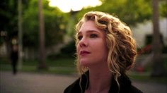 lily rabe..she's beautiful.  and i really like her hair:)