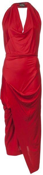 VIVIENNE WESTWOOD Protea Asymmetric Dress - Lyst
