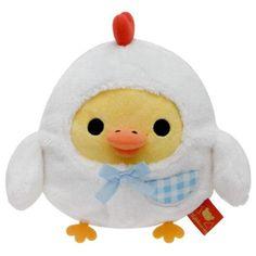 Rilakkuma chick Egg Kitchen plush toy in chicken costume