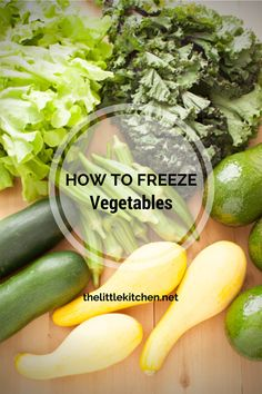 How To Freeze Vegetables – Community Table