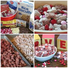 BE MINE Red Velvet Puppy Chow - Easy, delicious puppy chow perfect for your Valentine! Find the recipe: http://save-a-lot.com/recipes/red-velvet-puppy-chow