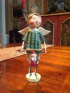 Lori Mitchell figurine- angel