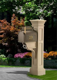 Liberty Mailbox Post online with free shipping from thegardengates.com for $230.99
