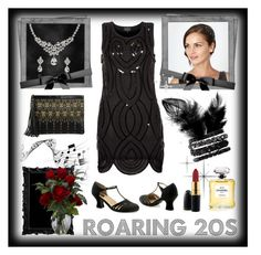 """""""Roaring 20s"""" by helenehrenhofer ❤ liked on Polyvore"""