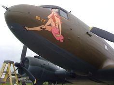 Military Humor, Military Art, Ww2 Posters, Airplane Art, Ww2 Planes, Battle Of Britain, Ww2 Aircraft, Nose Art, Art File