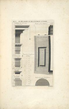 Antoine Babuty Desgodetz_Pantheon_Interior Details_1682