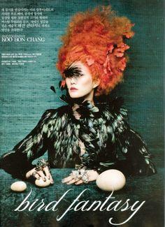 Vogue Korea: Bird Fantasy | Tom & Lorenzo