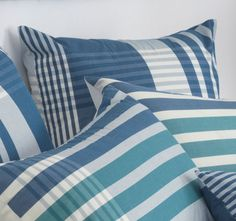 Bianca Oconnor European Pillowcase Pair Blue