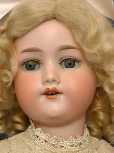 "THE MOST BEAUTIFUL 22"" ANTIQUE ARMAND MARSEILLE 390n Doll + LITTLE All Bisque!"