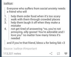 I need that one friend. All of my other friends also have social anxiety so it's hard lol. Funny Quotes, Life Quotes, Poem Quotes, Understanding Anxiety, Explaining Anxiety, Memes, That One Friend, Social Anxiety, Disney Movies
