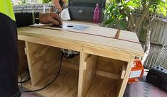 Making A Router Table, Build A Router Table, Router Tool, Router Bits, Plunge Router, Hand Saw, Woodworking Skills, Tomboy, Tools