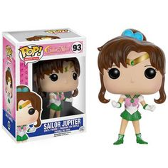 This is a Funko Sailor Moon Jupiter POP Vinyl Figure. Standing inches tall, the Sailor Moon Jupiter POP Vinyl figure is super cute! It's great to see that the Sailor Moon characters finally got t Sailor Moon Jupiter, Sailor Chibi Moon, Sailor Neptune, Sailor Uranus, Sailor Moon Funko, Pop Sailor Moon, Sailor Mars, Figurines D'action, Figurines Funko Pop