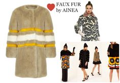 FAUX FUR COLLECTION  by AINEA  #fauxfur #fur #ainea #style #ecofashion #crueltyfree #fashion #cool #streetstyle #coolhunting #fakefur Fake Fur, Fur Coat, Street Style, Jackets, Collection, Fashion, Down Jackets, Moda, Urban Style