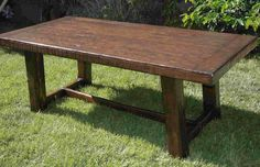 Rustic Wood Dining Table  Large Rectangular by craftsmanwright, $1,100.00