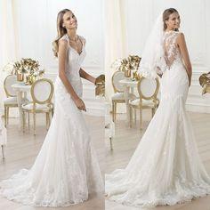 Increíbles vestidos de novia con encajes