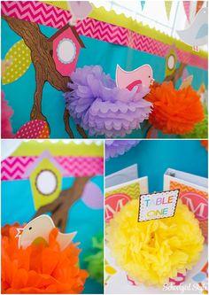 Bird, chevron, polka dots, stripes classroom decor and theme. ~Classroom decor by Schoolgirl Style www.schoolgirlstyle.com
