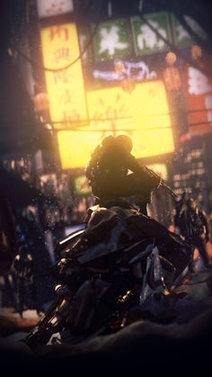 Cyberpunk Images (collisionlatch:   Rise of the people by Rammkap)