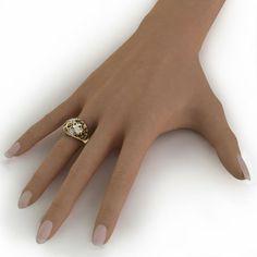 Laleh Paisley Ring, a closer look