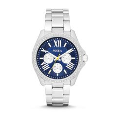 Found it!! This is the one I want! Fossil Cecile Multifunction Stainless Steel Watch