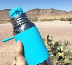 Pura Stainless are 100% plastic free! Most reusable water bottles have sneaky plastic lids or straws. Pura uses only food-grade stainless steel and silicone.