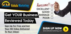 This guy is nuts! Giving away free HD video reviews online business models for business owners.