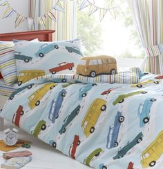Just Kidding Day Trip Double Duvet Cover Set: Amazon.co.uk: Kitchen & Home
