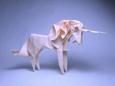 Unicorn origami. Because of reasons.