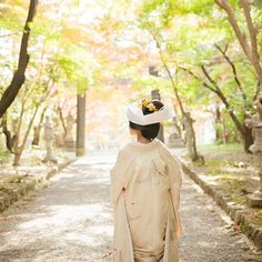 #大原野神社#挙式#白無垢#和装#角隠し#kimono#お衣裳さわらぎ#京都結婚物語