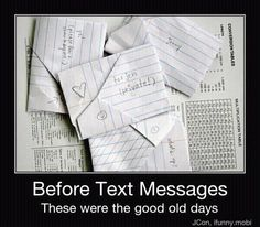 Old School Text Messages